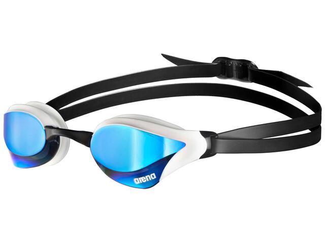 arena Cobra Core Mirror - Lunettes de natation - bleu/blanc
